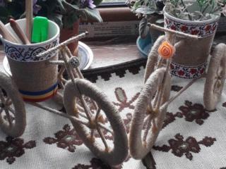 Делаем изделия из джута и бисера (ручная работа) на заказ