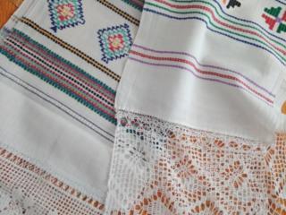 Самотканные полотенца