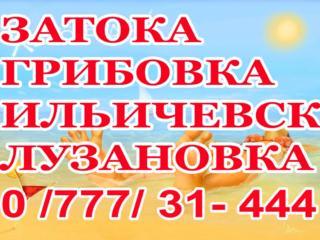 Информация о поездках на море Затока, Грибовка, Ильичевск.