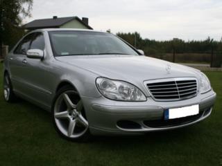 Mercedes CLS-Class и S-Class - ремонт и диагностика пневмоподвески