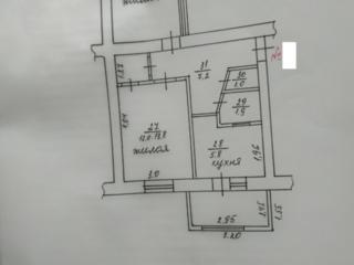 Большая 2-комнатная квартира 48 кв. м. в Центре 1/5