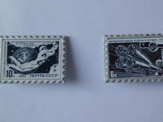 Продам значки на тему космонавтика производство СССР