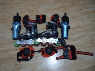 Продам коньки-ролики, размер 31-33(длина стопы 20 см). Цена 150 руб.