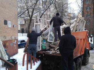 Вывоз и вынос строительного мусора.