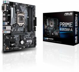 MB ASUS PRIME B365M-A / Intel B365 / LGA1151 / Dual DDR4 2666MHz / mAT