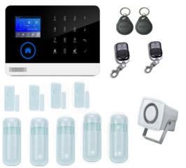 Охранная GSM сигнализация квартиры, дома, дачи, гаража.