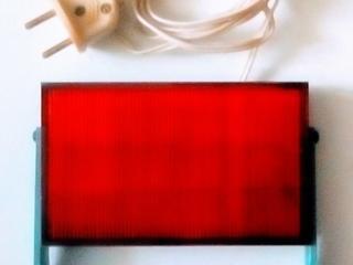 Красный фонарь для фотолаборатории