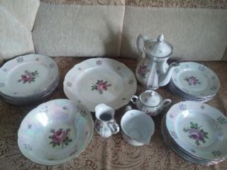 Продам столовый сервиз ГДР Роза, чайный сервиз и т. д.