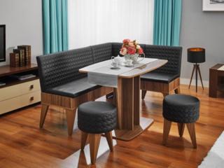 Кухонные мягкие уголки, столы, табуретки