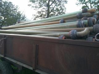 Продам стеклянные трубы с соединением диаметр трубы наружной 66мм/56