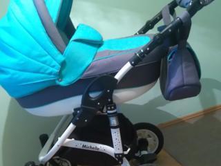 Универсальная всесезонная детская коляска 2 в 1 Caretto Michelle!!!