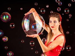 Шоу мыльных пузырей на ваш праздник!