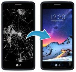 Продам дисплейный модуль для LG K8 2017 (US215)