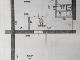 2-ком. квартира по ул. Индустриальная, 1/5 эт. Цена договорная!