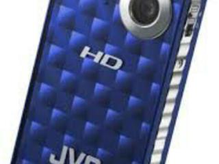 Цифровая мини видеокамера JVC с Full HD качеством записи.