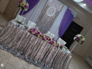 Декор зала, декор авто, продажа атрибутов для свадьбы.