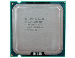 Двухъядерный процессор Intel Celeron E3300 под сокет lga775.