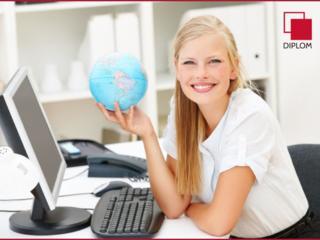 В бюро переводов Diplom г. Комрат требуется переводчик/офис-менеджер.