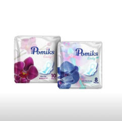 Женские гигиенические прокладки от турецкого производителя