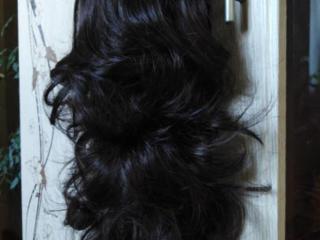 Продам шиньоны, хвост на крабе, резиночки из волос