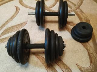 Гантели 2*12,00 кг