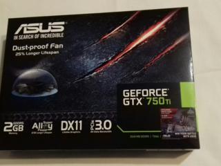 Продам видеокарту NVIDIA GeForce GTX 750 Ti (новая, в упаковке)