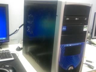 Продам системный блок с монитором недорого, Гарантия (DDR3)