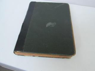 Старинная книга художественный сборник избранных произведений 1905г