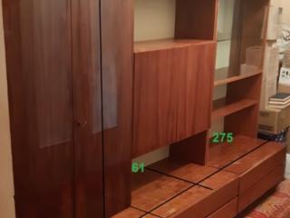 Немецкая кабинетная стенка.