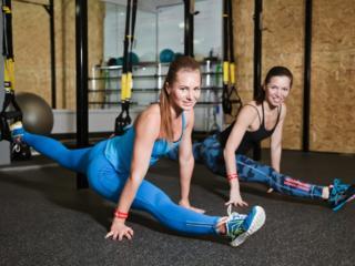 Новые методики растяжки: Stretching TRX
