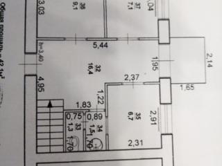 Центр нежилое помещение 2-к кв. 1/5 42 кв. м. можно перевести в жилое