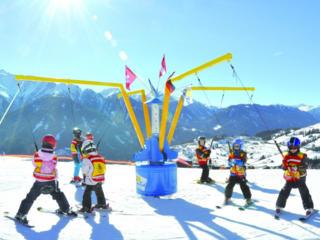 Карусель «ROTONDO» для лыж и тюбов