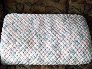 Продам сказочно нежный двухспальный плед из турецкой пряжи