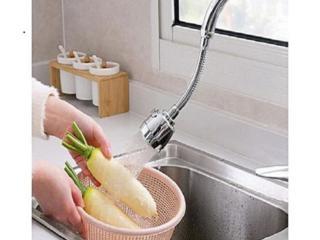 Гибкая насадка-аэратор для крана. Помогает экономить воду