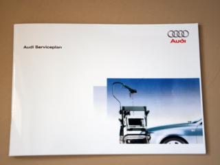 Новая сервисная книжка AUDI - carte de deservire auto AUDI