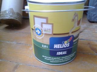 Продам лак для паркета акриловый Ideal Helios полумат 2, 5 л