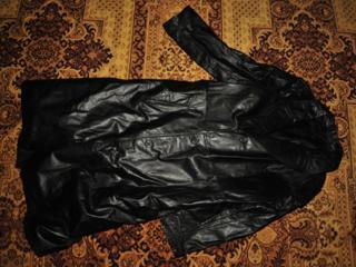 Кожаные пальто
