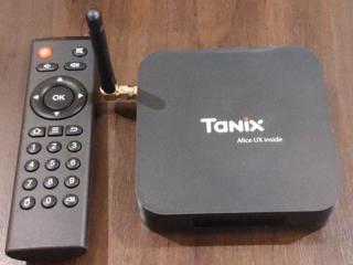 Tanix TX6 ТВ Box Allwinner H6 4 ГБ DDR3 32 ГБ EMMC 2,4 ГГц 5 ГГц WI-F