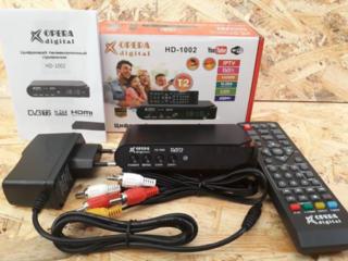 Продам новое оборудование для просмотра бесплатного DVBT2 цифрового ТВ