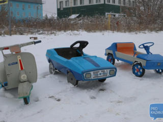 Куплю детскую педальную машинку, машинку на педалях времен СССР