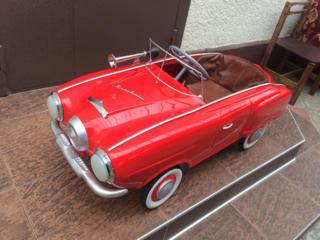 Куплю детскую педальную машинку времен СССР