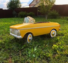 Куплю детскую педальную машинку СССР в любом состоянии
