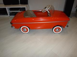 Куплю на педалях детскую машинку времен СССР в любом состоянии