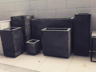 Ghivece din ciment, vazoane din beton| горшки для цветов из бетона