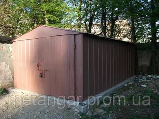 Продам металлический разборный гараж без места 5.5 × 3.2