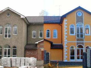 Фасады домов по разным технологиям!