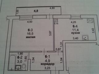 Продам большую однокомнатную квартиру.