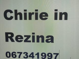 Caut Chirie in or. Rezina