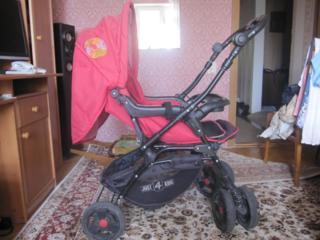 Две коляски красная нераскладная 3 положения большой багажник