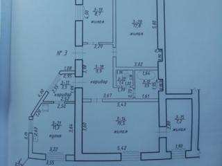 Продается просторная и светлая 4-к квартира общ площадью 83 кв м